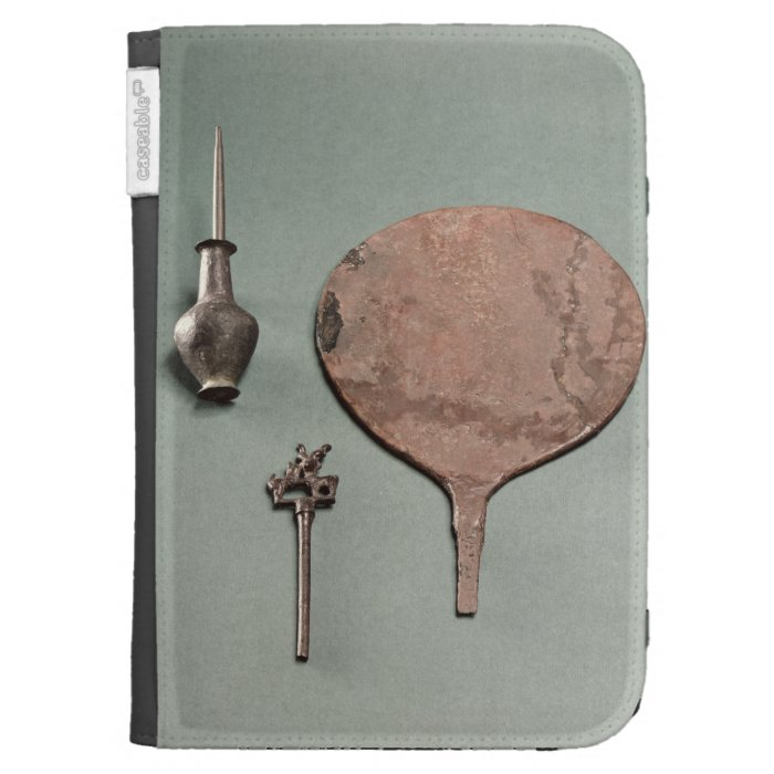 Copper hairpin, collyrium rod with pot and mirror, kindle 3G cases
