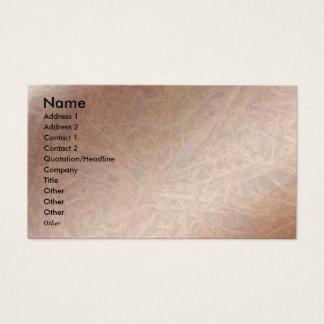 Copper Hay Breaker Visio Business Card