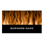 copper heat ~ bc business card templates