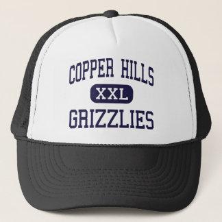 Copper Hills - Grizzlies - High - West Jordan Utah Trucker Hat