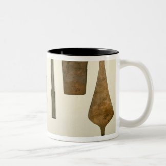Copper implements, Harappa, 2300-1750 BC Two-Tone Coffee Mug
