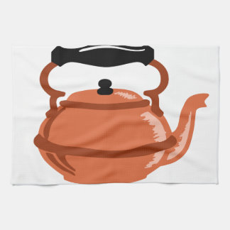 Copper Kettle Hand Towel