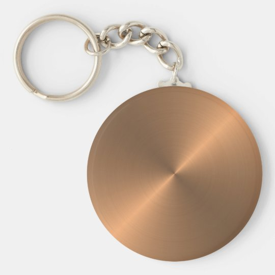 Copper Keychain