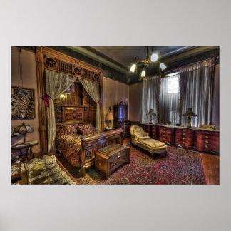 Copper King's Master Bedroom - Butte Montana Poster