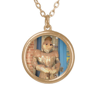 Copper Knight Gold Plated Necklace