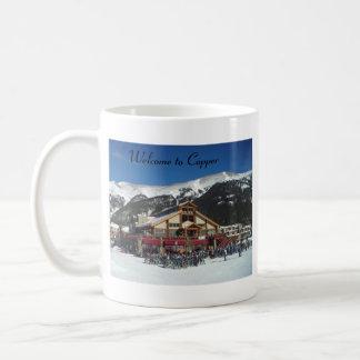 Copper Lodge Classic White Coffee Mug