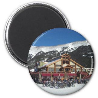 Copper Lodge Fridge Magnet