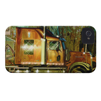 Copper Lorry Freight Truck Driver's iPhone 4 Case