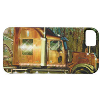 Copper Lorry Freight Truck Driver's iPhone 5 Case