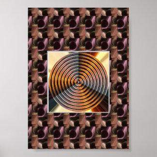 Copper metal hardware store : Healing Chakra Wheel Posters