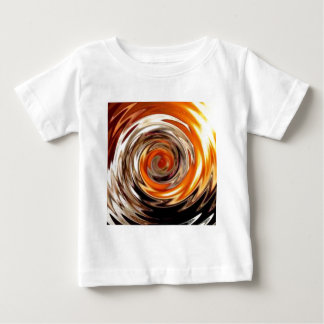 copper metal wave baby T-Shirt