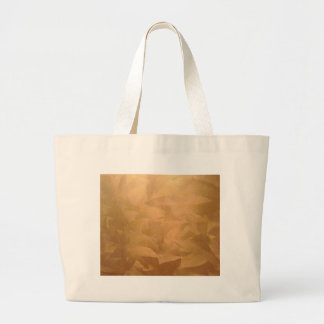 Copper Metallic Hand Brushed Large Tote Bag