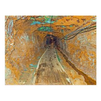 Copper mine in Norway Postcard