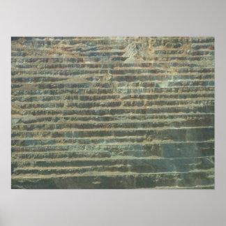 Copper mine poster