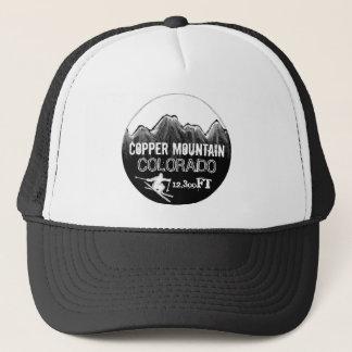 Copper Mountain Colorado black white ski hat
