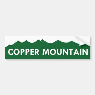Copper Mountain Colorado Bumper Sticker Car Bumper Sticker