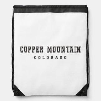 Copper Mountain Colorado Drawstring Bag
