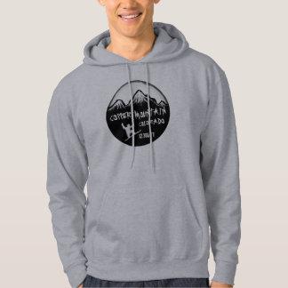 Copper Mountain Colorado guys snowboard art hoodie