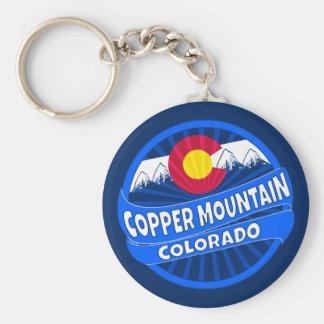 Copper Mountain Colorado mountain burst keychain