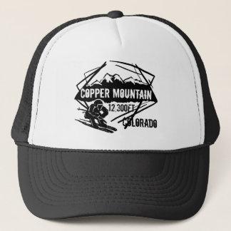 Copper Mountain Colorado ski elevation hat