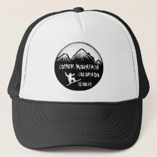 Copper Mountain Colorado snowboard art hat