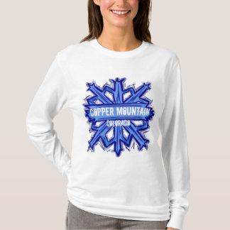 Copper Mountain Colorado snowflake hoodie