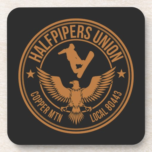 Copper Mountain Halfpipers Union Drink Coaster