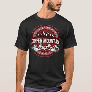 Copper Mountain Logo For Dark Shirts