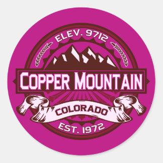 Copper Mountain Raspberry Stickers