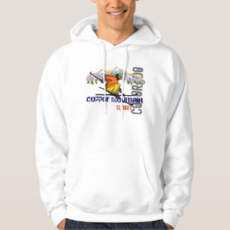Copper Mountain ski elevation guys hoodie