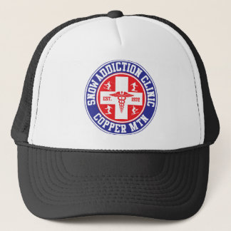Copper Mountain Snow Addiction Clinic Trucker Hat