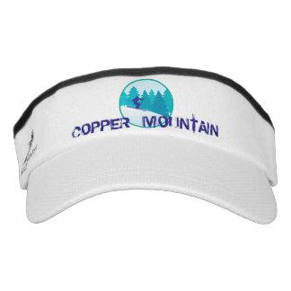 Copper Mountain Teal Ski Circle Visor