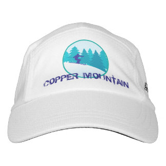 Copper Mountain Teal Ski Personalized Hat