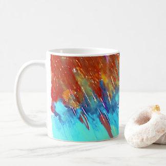Copper Patina Landscape Coffee Mug