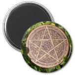 Copper Pentacle Magnet