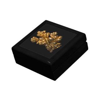 Copper Photo on Black Trinket Box