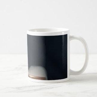 Copper pipe with steam coffee mug