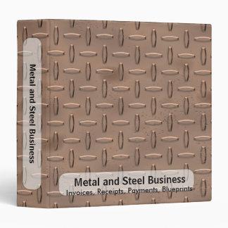 Copper Plate Business Binder