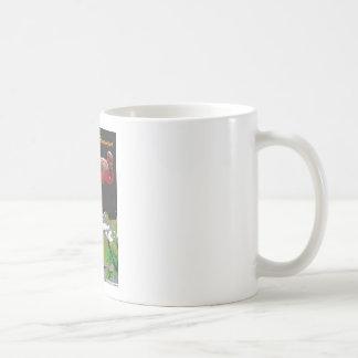 Copper Plate Flamingos Coffee Mug