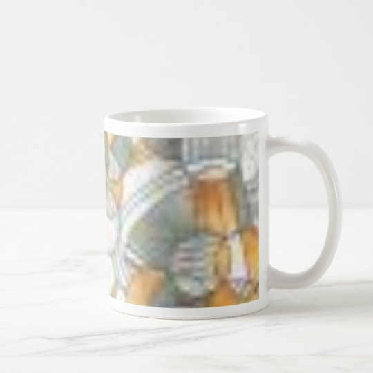 Copper Play (retro poly) Coffee Mug