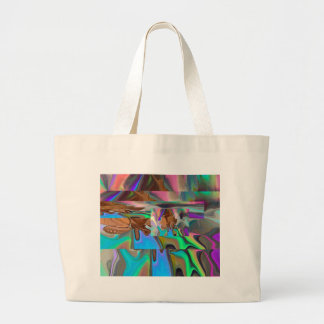 copper Prism Large Tote Bag