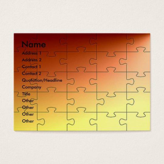 Copper Puzzle Profile Card