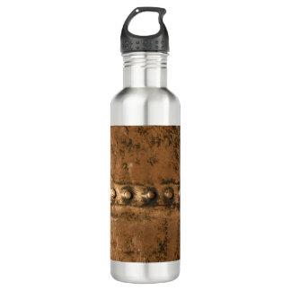 Copper rivets stainless steel water bottle
