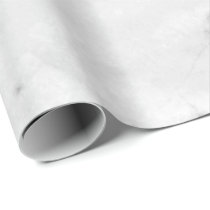 Copper Rose White Silver Gray Carrara Marble Stone Wrapping Paper