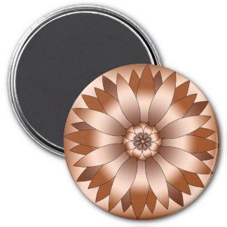 Copper Rosette Magnet