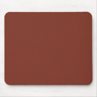 Copper Rust Brown Red Color Trend Blank Template Mouse Pad