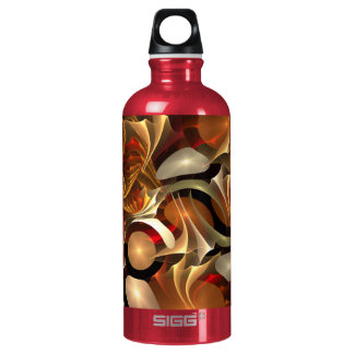Copper Sci-Fi Abstract Art SIGG Traveler 0.6L Water Bottle