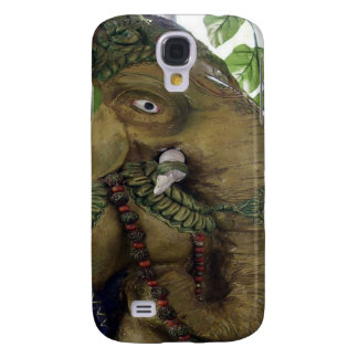 Copper Sculpture : India Vintage Elephant Ganesh Galaxy S4 Cases