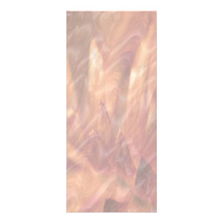 Copper Sheet Lotua Petal Art Rack Card