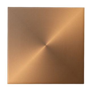 Metallic Copper Ceramic Tiles Zazzle